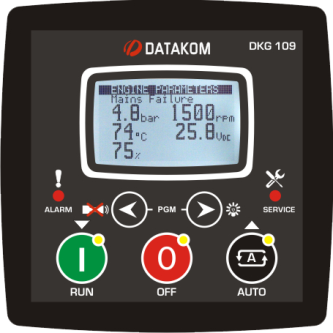Устройства автоматического управления дизель-генераторными установками
