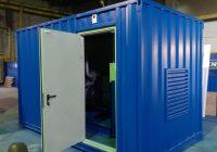 Дизельный генератор в блок контейнере