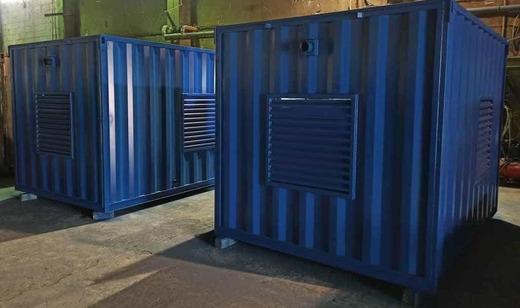 Дизель-электростанция в контейнере